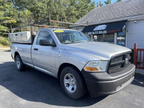 2012 RAM Ram Pickup 1500 for sale at Clear Auto Sales in Dartmouth MA