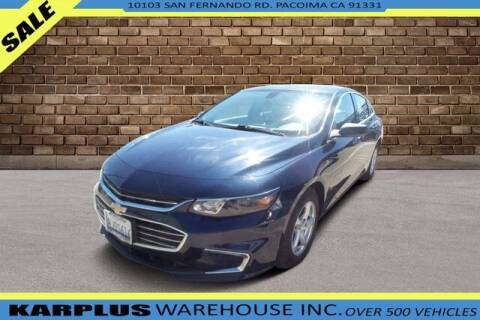 2017 Chevrolet Malibu for sale at Karplus Warehouse in Pacoima CA