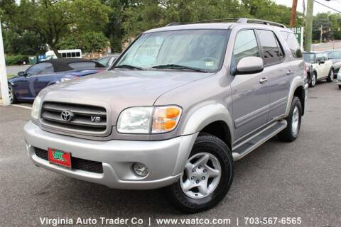 2002 Toyota Sequoia for sale at Virginia Auto Trader, Co. in Arlington VA