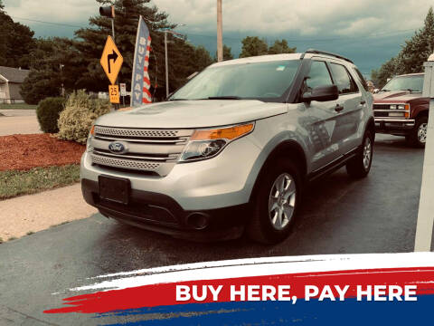 2011 Ford Explorer for sale at Marti Motors Inc in Madison IL