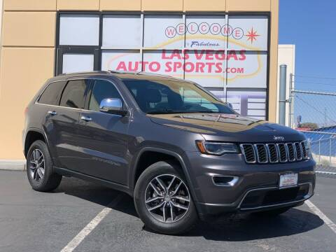2017 Jeep Grand Cherokee for sale at Las Vegas Auto Sports in Las Vegas NV