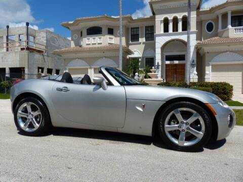 2008 Pontiac Solstice for sale at Lifetime Automotive Group in Pompano Beach FL