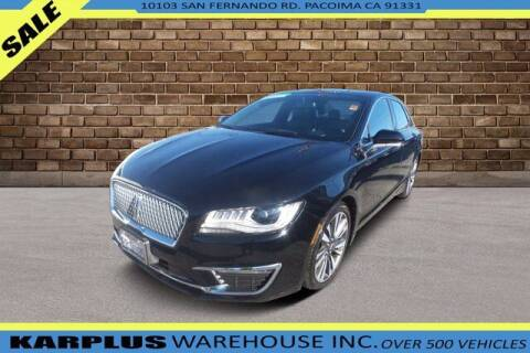 2017 Lincoln MKZ for sale at Karplus Warehouse in Pacoima CA