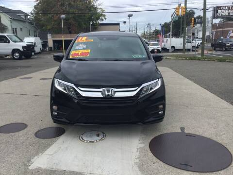 2018 Honda Odyssey for sale at Steves Auto Sales in Little Ferry NJ