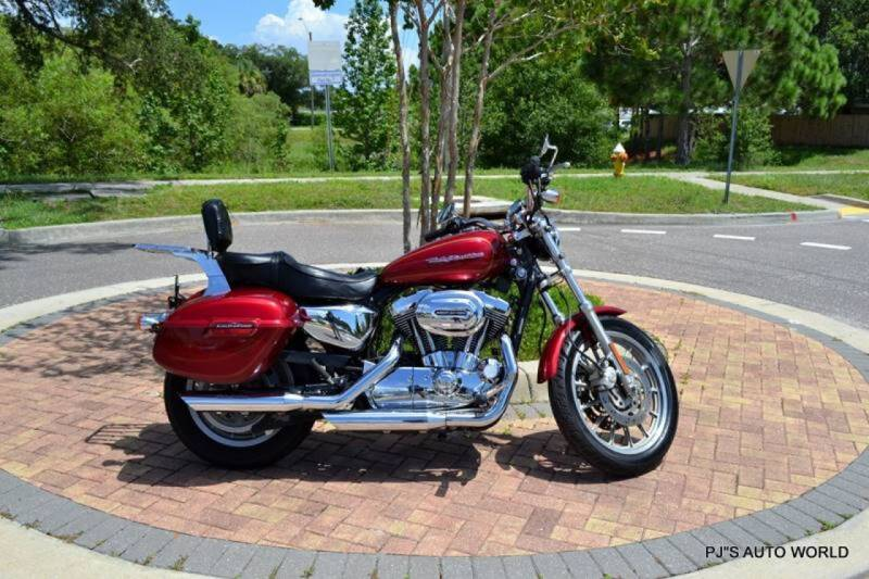 2004 Harley-Davidson Sportster for sale at P J'S AUTO WORLD-CLASSICS in Clearwater FL