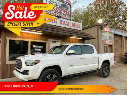 2017 Toyota Tacoma for sale at Oscar's Truck Center, LLC in Houston TX