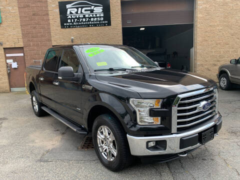 2015 Ford F-150 for sale at Ric's Auto Sales in Billerica MA
