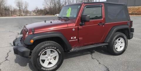 2008 Jeep Wrangler for sale at Augusta Auto Sales in Waynesboro VA