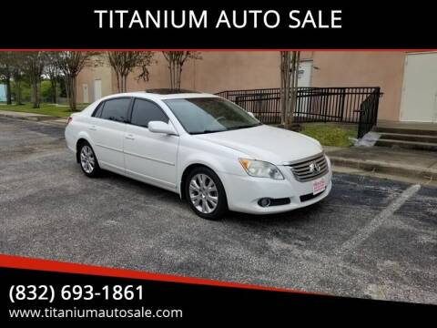 2008 Toyota Avalon for sale at TITANIUM AUTO SALE in Houston TX
