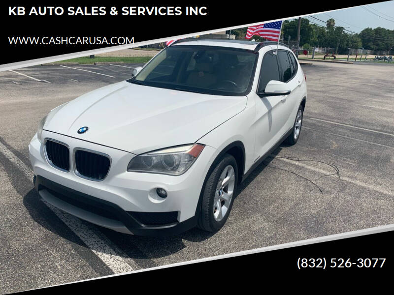 2013 BMW X1 for sale at KB AUTO SALES & SERVICES INC in Houston TX