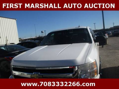 2009 Chevrolet Silverado 1500 for sale at First Marshall Auto Auction in Harvey IL