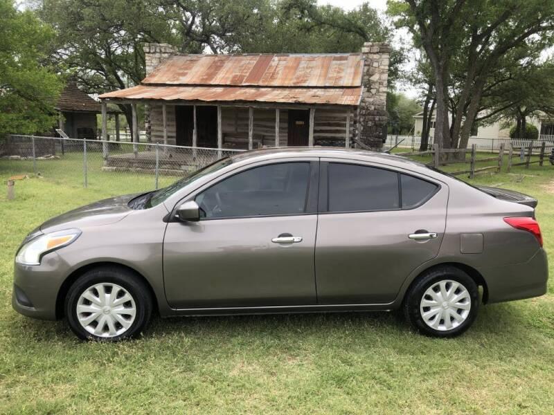 2016 Nissan Versa for sale at Village Motors Of Salado in Salado TX