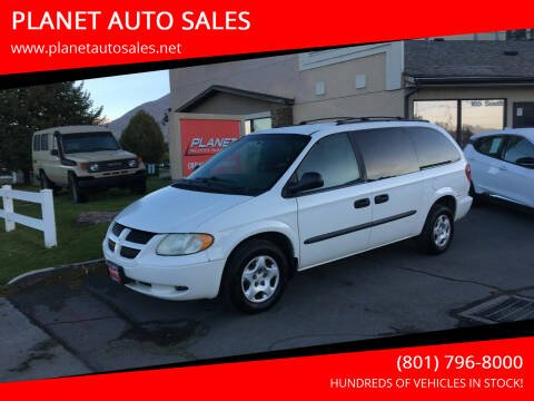 2003 Dodge Grand Caravan for sale at PLANET AUTO SALES in Lindon UT