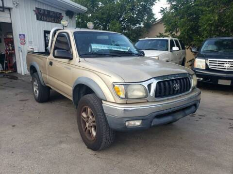 2001 Toyota Tacoma for sale at Bad Credit Call Fadi in Dallas TX
