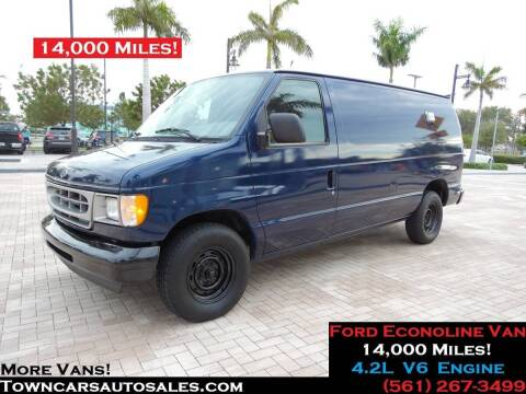 2001 Ford E-150 for sale at Town Cars Auto Sales in West Palm Beach FL