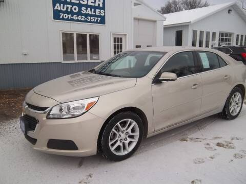 2014 Chevrolet Malibu for sale at Wieser Auto INC in Wahpeton ND