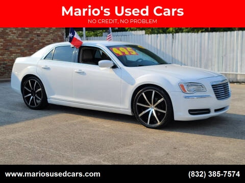 2013 Chrysler 300 for sale at Mario's Used Cars - South Houston Location in South Houston TX