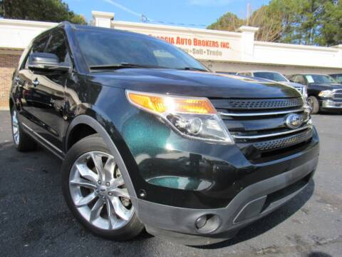 2014 Ford Explorer for sale at North Georgia Auto Brokers in Snellville GA