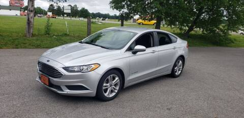 2018 Ford Fusion Hybrid for sale at Elite Auto Sales in Herrin IL