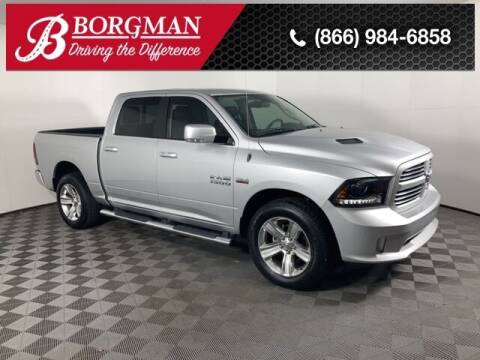 2015 RAM Ram Pickup 1500 for sale at BORGMAN OF HOLLAND LLC in Holland MI