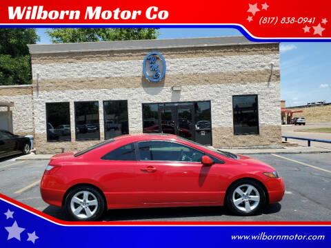 2008 Honda Civic for sale at Wilborn Motor Co in Fort Worth TX