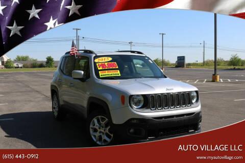 2015 Jeep Renegade for sale at AUTO VILLAGE LLC in Lebanon TN