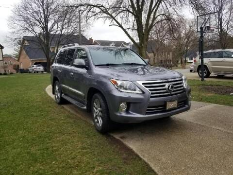 2013 Lexus LX 570 for sale at I-80 Auto Sales in Hazel Crest IL