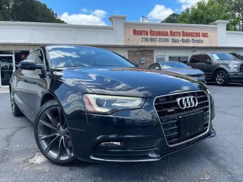 2013 Audi A5 for sale at North Georgia Auto Brokers in Snellville GA