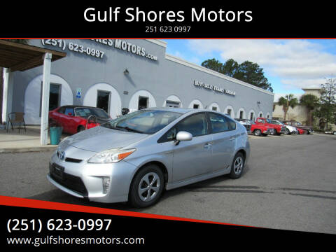 2012 Toyota Prius for sale at Gulf Shores Motors in Gulf Shores AL