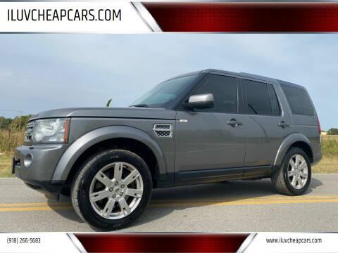 2010 Land Rover LR4 for sale at ILUVCHEAPCARS.COM in Tulsa OK