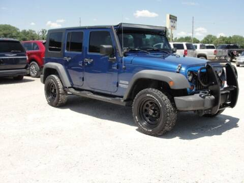 2010 Jeep Wrangler Unlimited for sale at Frieling Auto Sales in Manhattan KS