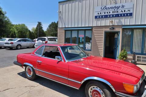 1975 Mercedes-Benz 450 SL for sale at Danny's Auto Deals in Grafton WI