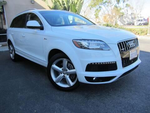 2013 Audi Q7 for sale at ORANGE COUNTY AUTO WHOLESALE in Irvine CA
