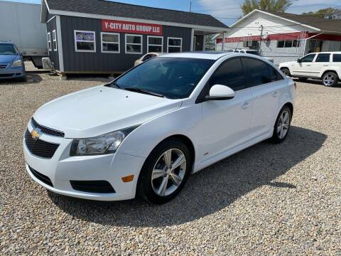 2012 Chevrolet Cruze for sale at Y City Auto Group in Zanesville OH