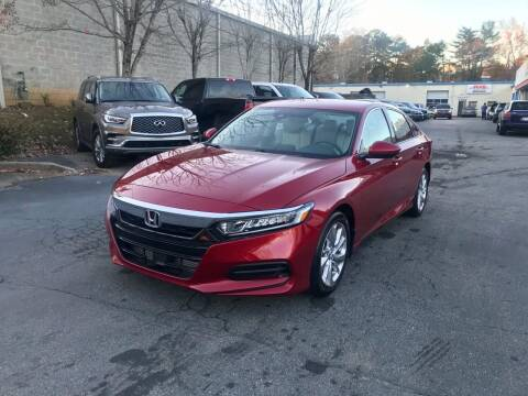 2020 Honda Accord for sale at Five Brothers Auto Sales in Roswell GA