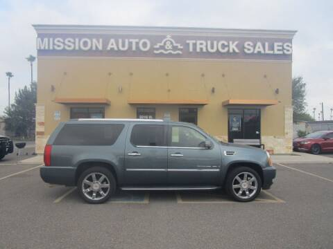 2009 Cadillac Escalade ESV for sale at Mission Auto & Truck Sales, Inc. in Mission TX