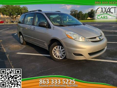 2006 Toyota Sienna for sale at Exxact Cars in Lakeland FL