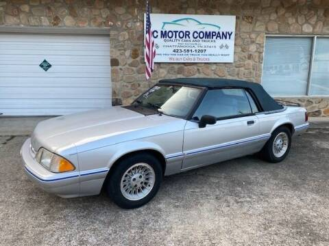 1993 Ford Mustang for sale at KC Motor Company in Chattanooga TN