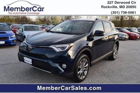 2018 Toyota RAV4 for sale at MemberCar in Rockville MD