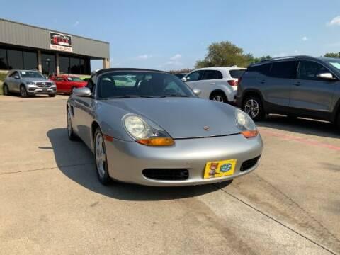 2002 Porsche Boxster for sale at KIAN MOTORS INC in Plano TX