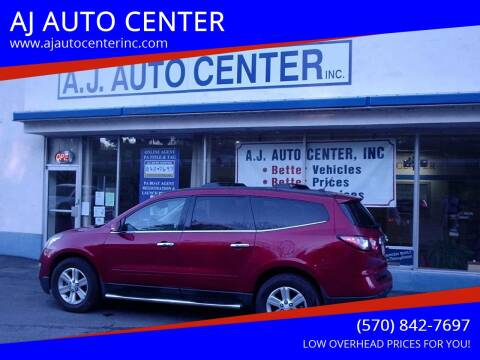 2013 Chevrolet Traverse for sale at AJ AUTO CENTER in Covington PA
