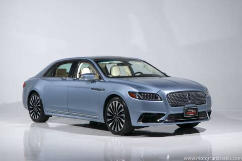 2019 Lincoln Continental for sale at Motorcar Classics in Farmingdale NY