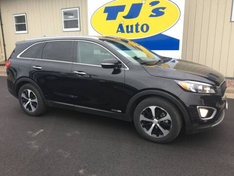 2017 Kia Sorento for sale at TJ's Auto in Wisconsin Rapids WI