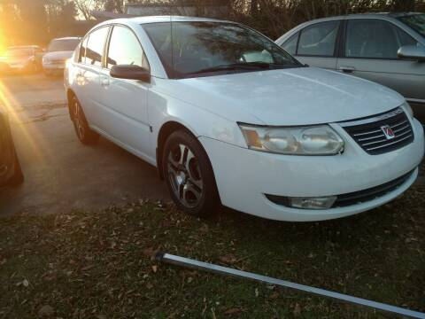 2005 Saturn Ion for sale at IMPORT MOTORSPORTS in Hickory NC