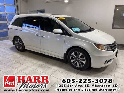 2014 Honda Odyssey for sale at Harr's Redfield Ford in Redfield SD