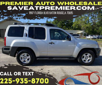 2006 Nissan Xterra for sale at Premier Auto Wholesale in Baton Rouge LA