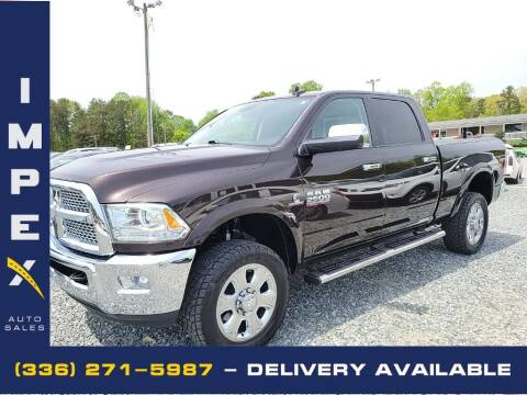 2016 RAM Ram Pickup 2500 for sale at Impex Auto Sales in Greensboro NC