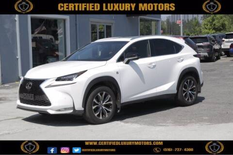 2017 Lexus NX 200t for sale at Certified Luxury Motors in Great Neck NY