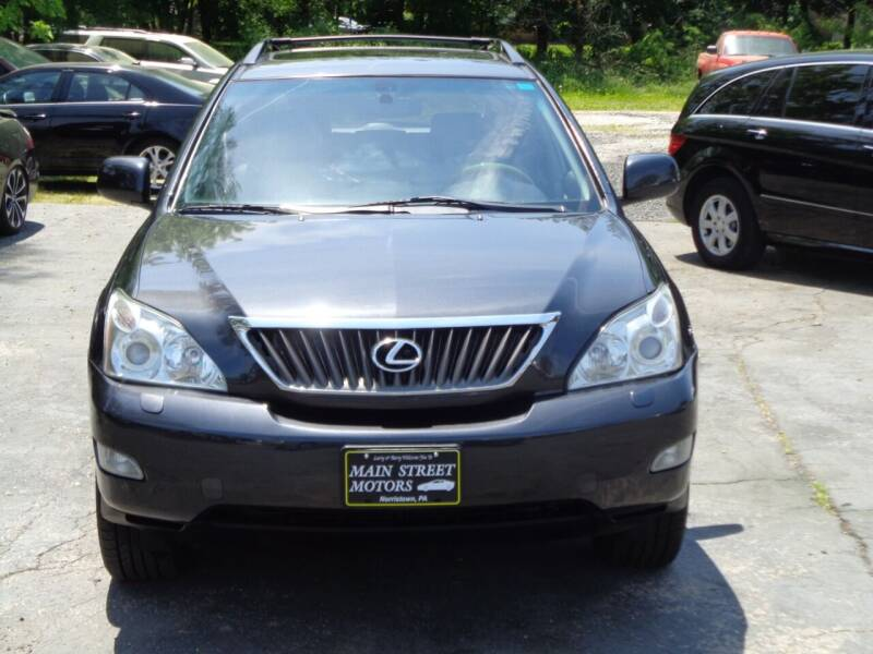 2009 Lexus RX 350 for sale at MAIN STREET MOTORS in Norristown PA
