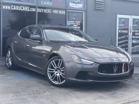 2017 Maserati Ghibli for sale at CARUCARS LLC in Miami FL